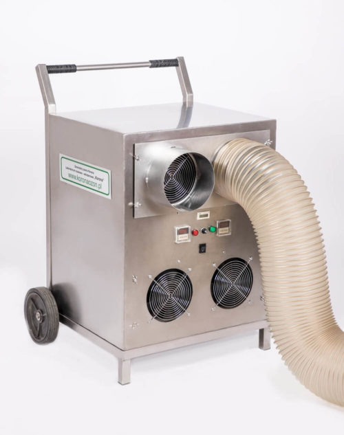 Ozonator powietrza przemysłowy (generator ozonu) Korona A 200 MOBILE