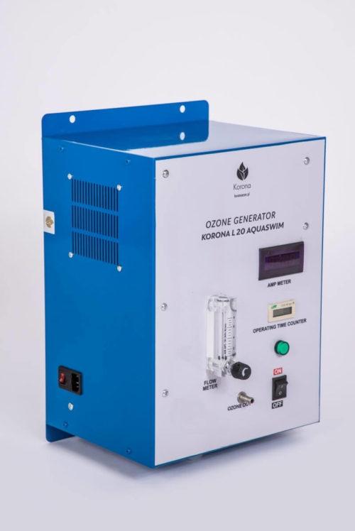 Ozonator domowy wody do basenu (generator ozonu) Korona L 20 Aquaswim