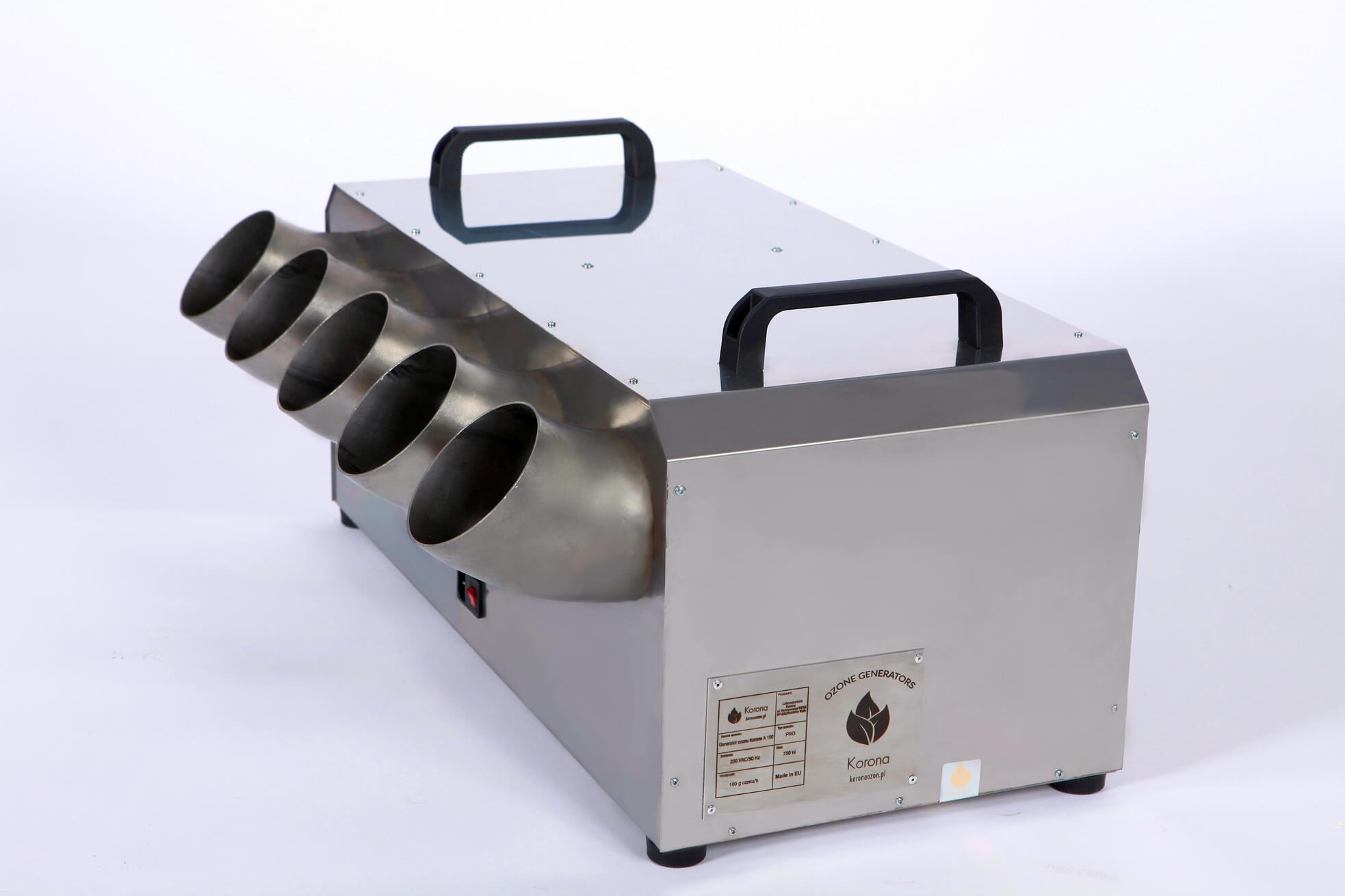 Ozonator powietrza przemysłowy (generator ozonu) Korona A 150 PRO