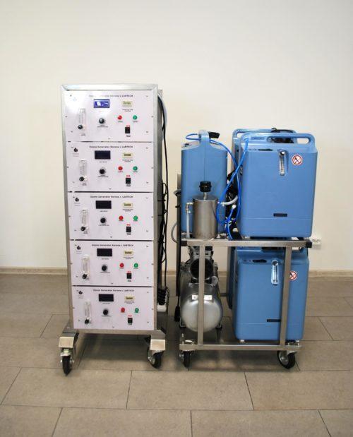 Ozonator (generator ozonu) Korona GRAIN 100