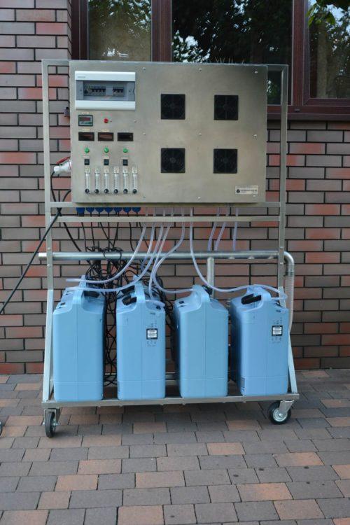 Ozonator powietrza i wody (generator ozonu) Korona L 100 LABTECH