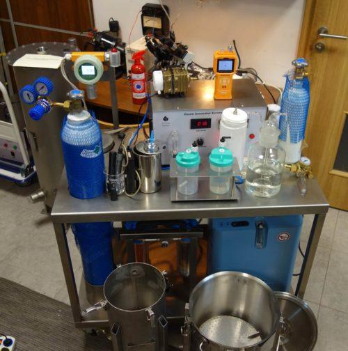 Ozonator wody (generator ozonu) Korona L 20 DIFFUSION AIR-OXYGEN PLUS