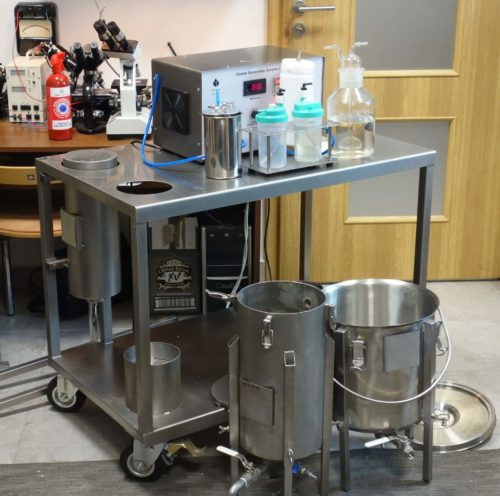 Ozonator wody (generator ozonu) Korona L 40 DIFFUSION