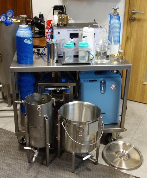 Ozonator wody (generator ozonu) Korona L 40 DIFFUSION AIR-OXYGEN