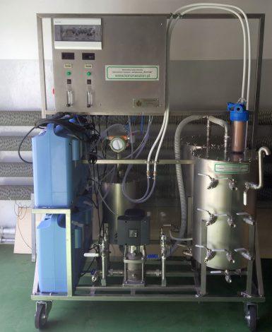 Ozonator przemysłowy wody (generator ozonu) Korona L 80 DIFFUSION