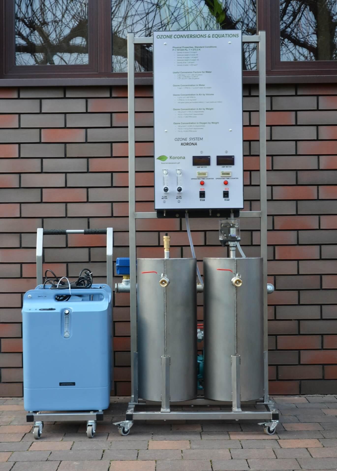 Ozonator wody (generator ozonu) Korona WATER-OXYGEN 1.5 m3-h