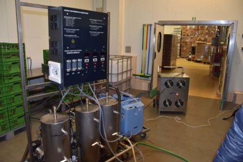 Ozonator wody (generator ozonu) Korona WATER-OXYGEN INDUSTRY 3 m3-h
