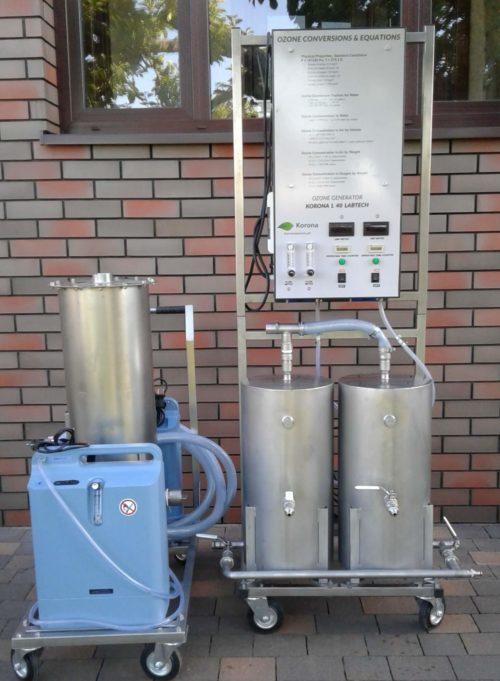 Ozonator wody (generator ozonu) Korona WATER-OXYGEN PLUS 1.5 m3-h