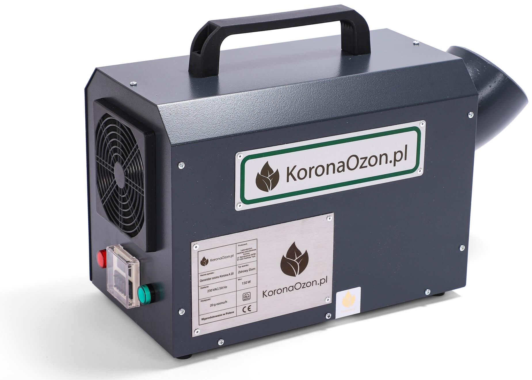 Ozonator Korona A 20 Zdrowy Dom