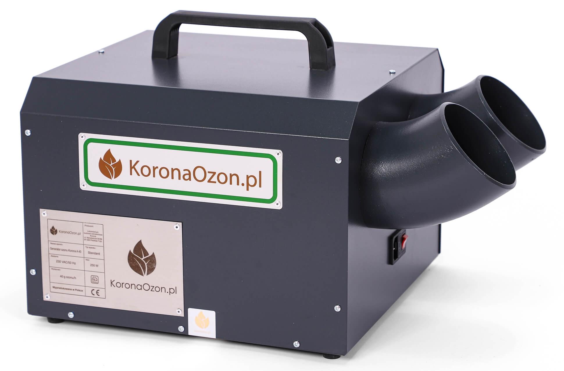 Ozonator profesjonalny Korona A 40 Standard